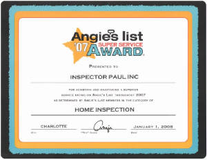 Rock Hill Charlotte Licensed Certified Home Inspection